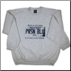 Plus Sized USA PLATE Crew Neck Ash