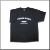 Plus Sized VARSITY T-shirt Black