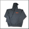 Plus Sized TOUGH AS NAILS Pullover Hoodie Charcoal