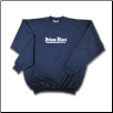 Plus Sized METAL CLASSIC Crew Neck Navy