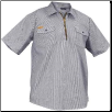 HICKORY SHORT SLEEVE half - zipper front