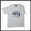 Plus Sized USA PLATE T- shirt White