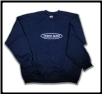 Plus Sized BARBED WIRE Crew Neck Navy