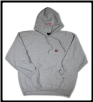 LETTER BLOCK Pullover Hoodie Ash