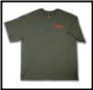 TOUGH AS NAILS T-shirt Olive