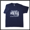 Plus Sized USA PLATE T- shirt Navy