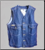 Plus Sized Western Vest w/o Collar