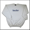 Plus Sized METAL CLASSIC Crew Neck White