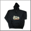 Plus Sized INSTITUTION Pullover Hoodie Black