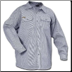 Plus Sized HICKORY LONG SLEEVE button front
