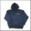 Plus Sized TOUGH AS NAILS Pullover Hoodie Navy
