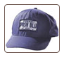 Ensign Blue Logo baseball cap with white lettering and border