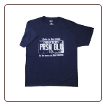 USA PLATE T- shirt Navy