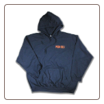 TOUGH AS NAILS Pullover Hoodie Navy