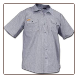 HICKORY SHORT SLEEVE button front