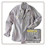 HICKORY LONG SLEEVE TALL button front