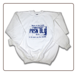 USA PLATE Crew Neck White