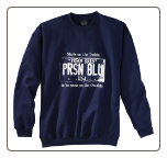 Plus Sized USA PLATE Crew Neck Navy