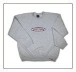 BARBED WIRE Crew Neck Ash