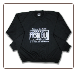 Plus Size USA PLATE Crew Neck Sweatshirt Black