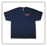 TOUGH AS NAILS T-shirt Navy