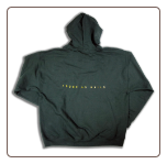 Plus Sized TOUGH AS NAILS Pullover Hoodie Forest Green