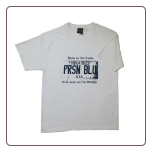 USA PLATE T- shirt White