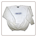 BARBED WIRE Crew Neck White
